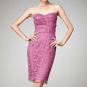 Dolce&Gabbana Raspberry Chantilly Strapless Dress